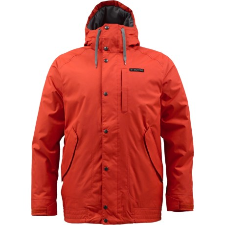 Burton TWC Throttle Snowboard Jacket - Insulated (For Men) in T-Bone