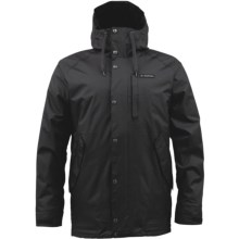 Burton TWC Throttle Snowboard Jacket - Insulated (For Men) in True Black - Closeouts