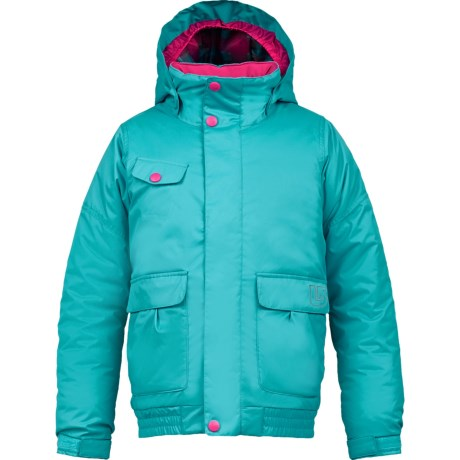 Burton Twist Bomber Snowboard Jacket - Insulated (For Girls) in Bohemian