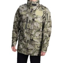 Burton UAB M-65 Trench Snowboard Jacket - Waterproof (For Men) in Undftd Camo - Closeouts