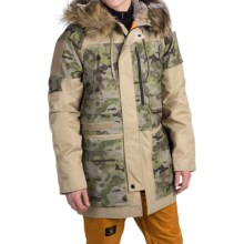 Burton UAB N-3B Snowboard Parka - Waterproof, Insulated (For Men) in Coyote Tan/Undftd Camo - Closeouts