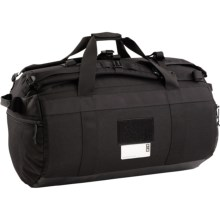 Burton UNDEFEATED X Alpha Industries Operator 70L Duffel Bag in True Black - Closeouts