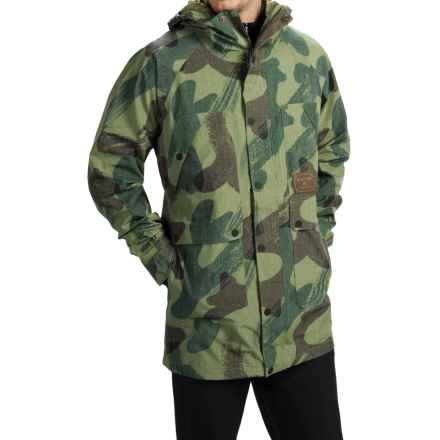 Burton Vagabond Gore-Tex® Snowboard Jacket - Waterproof (For Men) in Denison Camo - Closeouts