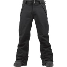 Burton Vent Snowboard Pants - Waterproof (For Men) in True Black - Closeouts