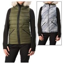 Burton Vesta Snowboard Vest - Insulated, Reversible (For Women) in Olive Night - Closeouts