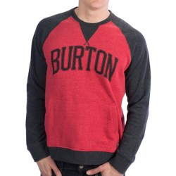 Burton Warm Up Sweatshirt (For Men) in Heather True Black