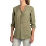 Burton Waterbury Woven Henley Shirt - Long Sleeve (For Women)