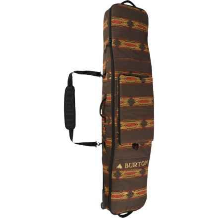 Burton Wheelie Gig Snowboard Bag in Sierra Print - Closeouts