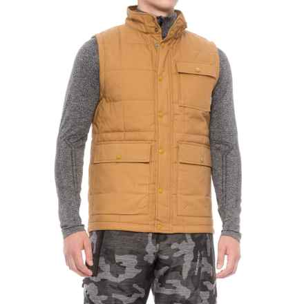 Burton Woodford Vest - Insulated (For Men) in Woodthrush - Closeouts