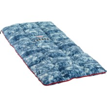 Burton X Big Agnes 40°F The Dirt Bag Sleeping Bag - 600 Fill Power, Rectangular in Indigo Print - Closeouts