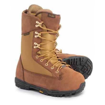 Burton X Danner Snowboard Boots (For Men) in Brown/Khaki - Closeouts