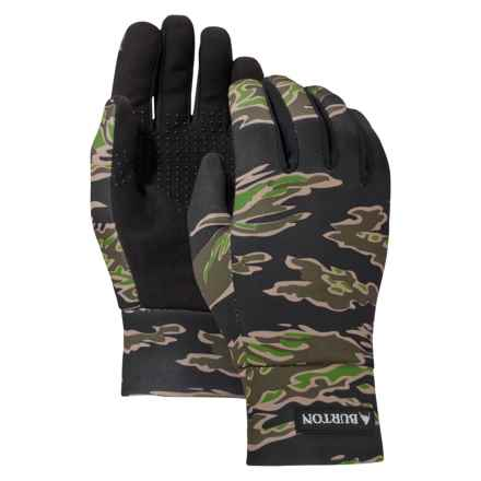 Burton Youth Touch N Go Gloves - Touchscreen Compatible (For Little and Big Kids) in Camo - Closeouts