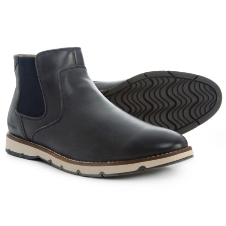 Image of Burwell Hayes Chelsea Boots - Leather (For Men)