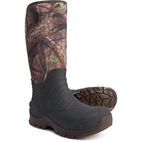 Bushman Neoprene Hunting Boots - Waterproof, Insulated (For Men) - MOSSY OAK (10 ) thumbnail
