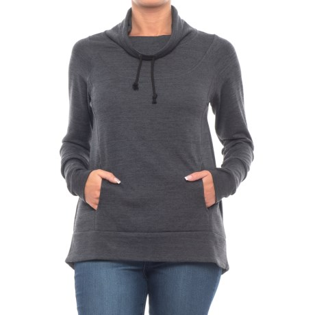 Image of Butte Sweatshirt - Cowl Neck (For Women)