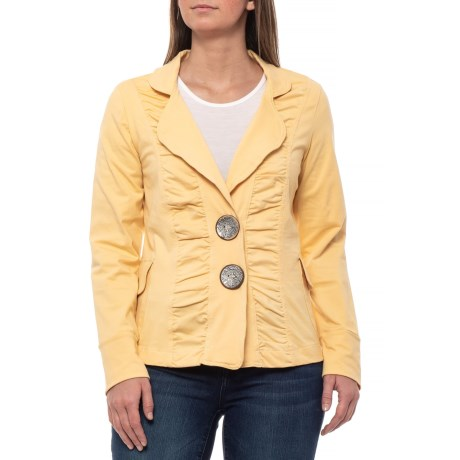 Image of Butter Morgan Ruched Jacket (For Women)