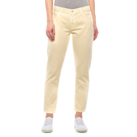 Image of Butter Sadey Slim Straight Jeans - Mid Rise (For Women)