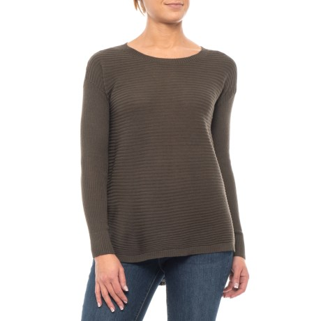 Image of Button-Back Sweater - Merino Wool (For Women)
