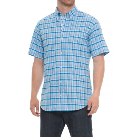Image of Button-Down Collar Shirt - Short Sleeve (For Men)