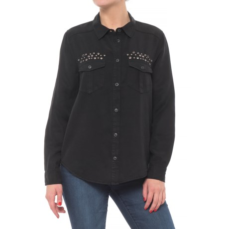 Image of Button Down Shirt - Long Sleeve (For Women)