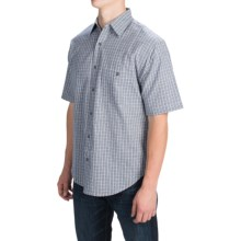 Button Front Shirt - Short Sleeve (For Men) in Chill - 2nds