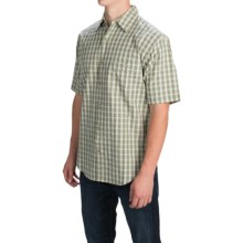 Button Front Shirt - Short Sleeve (For Men) in Money - 2nds