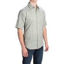 Button Front Shirt - Short Sleeve (For Men) in Sunday Morning - 2nds