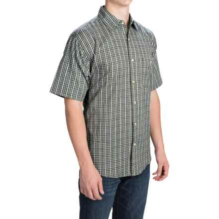 Button Front Shirt - Short Sleeve (For Men) in Turf - 2nds