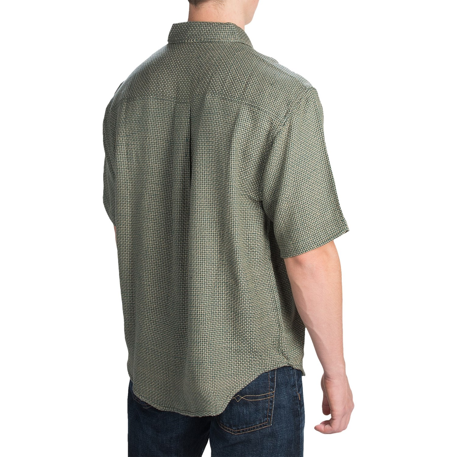 Button Front Shirt For Men Save 88