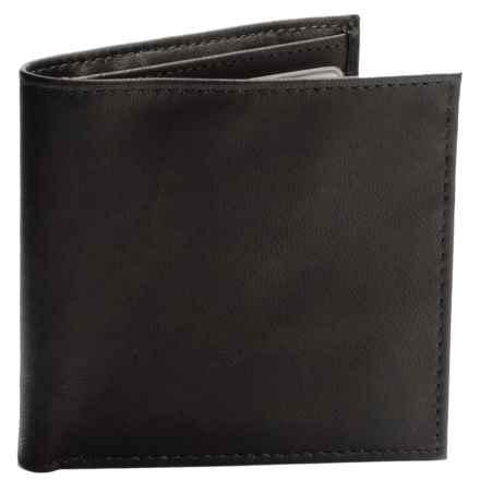 Buxton Dakota Cardex Wallet - Leather (For Men) in Black - Closeouts