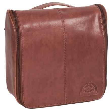 Buxton Dopp® Carson Hanging Travel Kit in Dark Brown - Closeouts