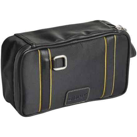 Buxton Dopp® Top Zip Travel Kit (For Men) in Black - Closeouts