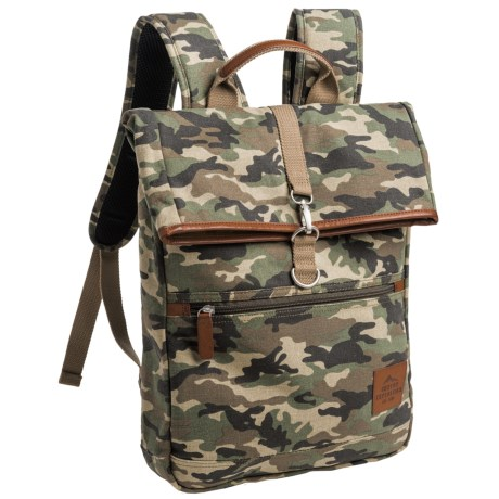 Buxton Expedition 2 Huntington 11L Backpack in Camo