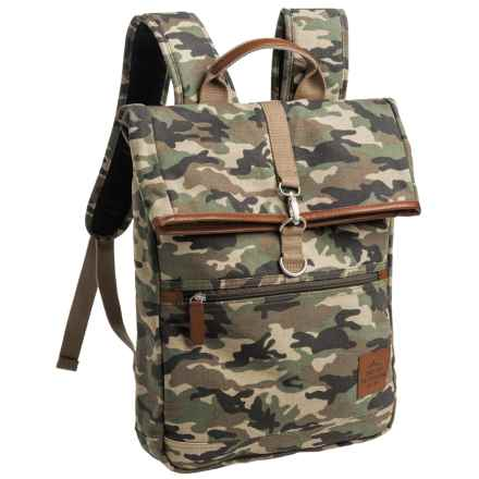 Buxton Expedition 2 Huntington Backpack in Camo - Closeouts