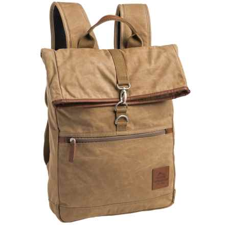 Buxton Expedition 2 Huntington Backpack in Tan - Closeouts