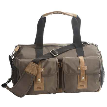Buxton Expedition II Duffel Bag in Olive - Closeouts