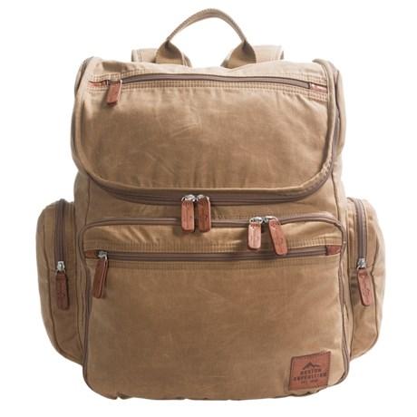 Buxton Expedition II Huntington Backpack - 15? Laptop Sleeve