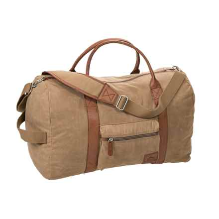 Buxton Expedition II Huntington Convertible Duffel Bag in Tan - Closeouts