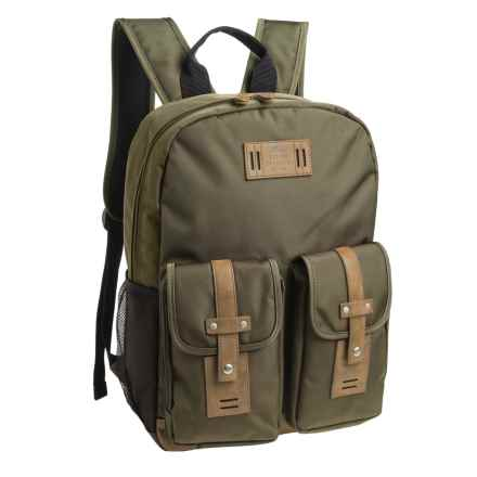 Buxton Expedition II Trekker Backpack in Olive - Closeouts