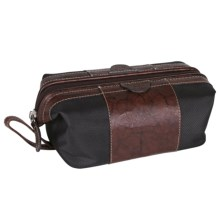 Buxton Express Framed Travel Kit in Brown - Closeouts