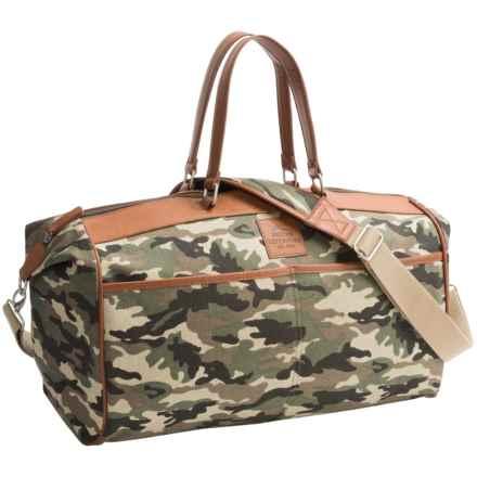 Buxton Huntington II Duffel Bag in Camo - Closeouts