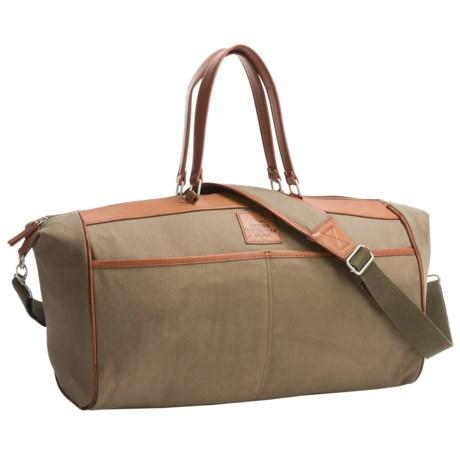 Buxton Huntington II Duffel Bag in Olive
