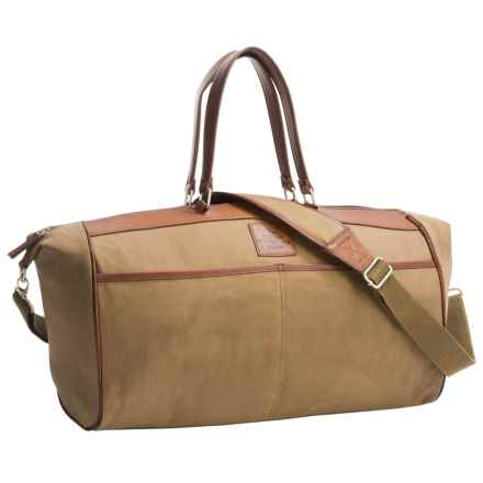 Buxton Huntington II Duffel Bag in Tan - Closeouts