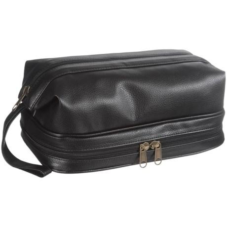 Buxton Jumbo Kit - Zip Bottom in Black