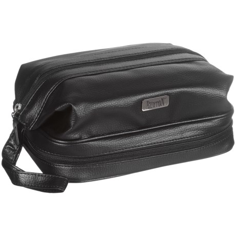 Buxton Travel Kit in Black