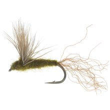 BWO Sparkle Dun Dry Fly - Dozen in Blue Winged Olive - Closeouts