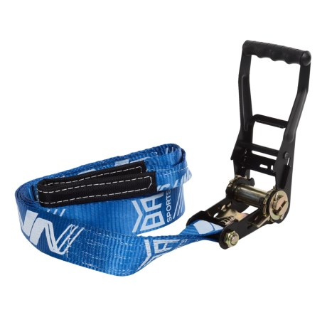 BYA Sport Classic 85 Slackline Kit - 85' in Blue