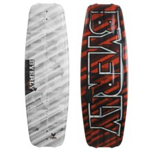 Byerly Monarch Wakeboard - Verdict Bindings in 54 Graphic - Closeouts