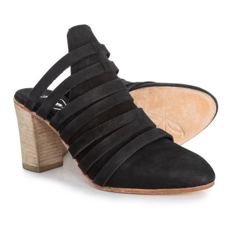 Image of Byron Mule Shoes - Suede (For Women)