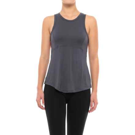 C & C California Contrast Back Lounge Tank Top (For Women) in Ombre Blue - Closeouts
